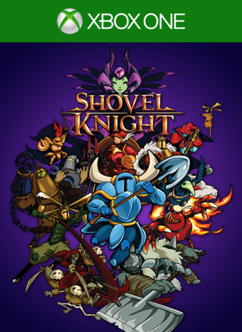 File:Shovel Knight Xbox One cover.png