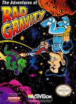 Adventures of Rad Gravity NES cover