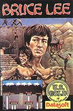 Bruce Lee C64 cover
