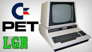 LGR - Commodore PET Computer System Review
