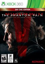 Metal Gear Solid V The Phantom Pain Xbox 360 cover