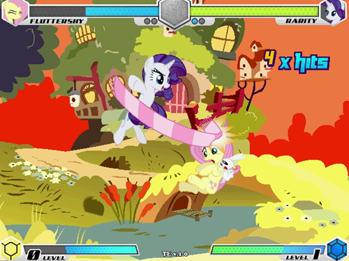File:My Little Pony Fighting is Magic Tribute Edition screenshot PC.png