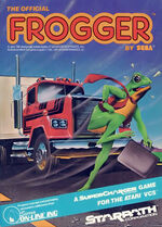 Supercharger Frogger box art