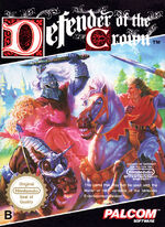 Defender of the Crown NES cover