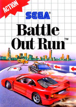 Battle Out Run SMS box art