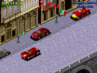 Great 1000 Miles Rally arcade screenshot
