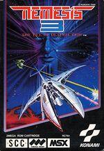 Nemesis 3 MSX cover