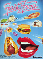 Atari 2600 Fast Food box art