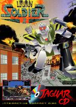 Iron Soldier 2 Atari Jaguar CD cover