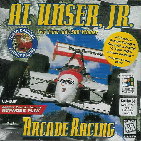 File:Al Unser Jr Arcade Racing PC cover.jpg