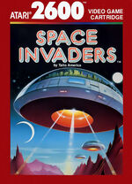 Atari 2600 Space Invaders box art