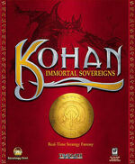 Kohan Immortal Sovereigns front