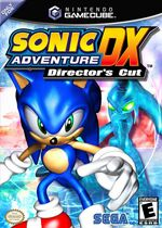 Sonic adventure dx box