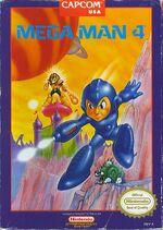 Mega Man 4 NES cover