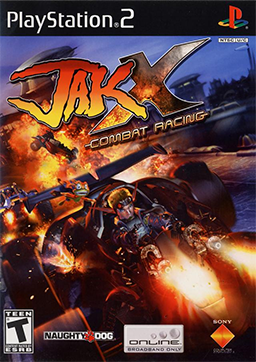 File:Jak X - Combat Racing Coverart.png