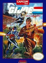 GI Joe The Atlantis Factor NES cover