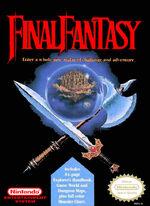 Final Fantasy NES cover