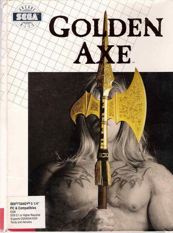 File:Golden Axe DOS cover.jpg