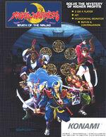 Mystic Warriors arcade flyer