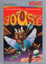 Atari 2600 Joust box art