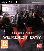 Armored Core Verdict Day PS3 cover