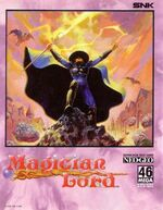 Magician Lord NeoGeo Cover