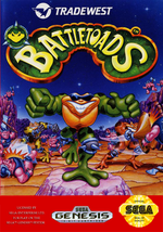 Battletoads MD cover