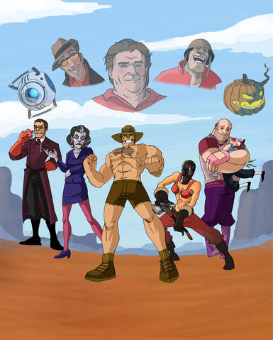 File:Commission 3 vs saxton hale by shy light-d4b8p2j.jpg
