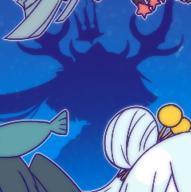 Sea god closeup