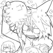 Octo kiss sketch