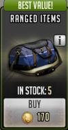 Ranged items