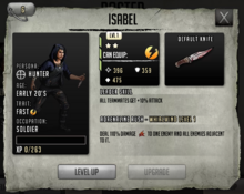 Isabel - Stage 3, Level 1