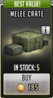 Melee crate