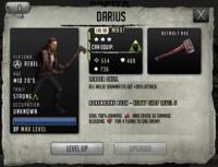 Darius - Level 3, Max Stats