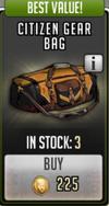 Citizen gear bag