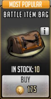 Battle item bag