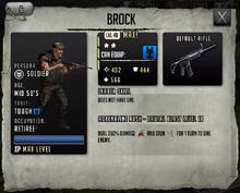 Brock - Max Stats