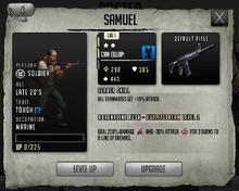 Samuel - Rank 2, Level 1