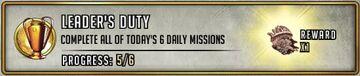 Leaders Duty