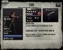 Carl - Max Stats