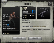 Carter - lvl 1