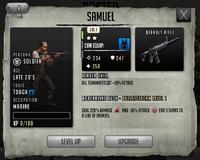 Samuel - Rank 1, Level 1