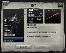 Ray - Max Stats