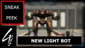 War Robot - NEW LIGHT BOT - Sneak Peek
