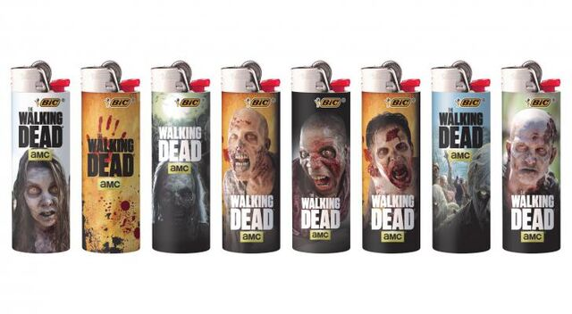 File:BIC Special Edition The Walking Dead Series Lighters 1.jpg
