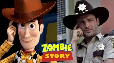 """""""Zombie Story"""" - A Mind-Blowing Comparison of The Walking Dead & Toy Story-0"""