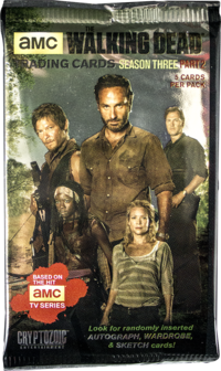 The Walking Dead Season 3 Trading Cards Part 2 Pack