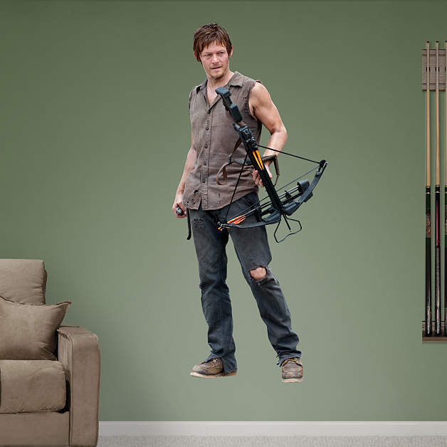 Daryl Dixon Fathead Wall Decal Part 61