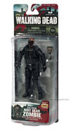 Walking Dead action figures TV series 4 Riot Gear Gas Mask Zombie 02
