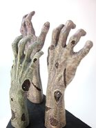 Zombie Hand Bookend 10